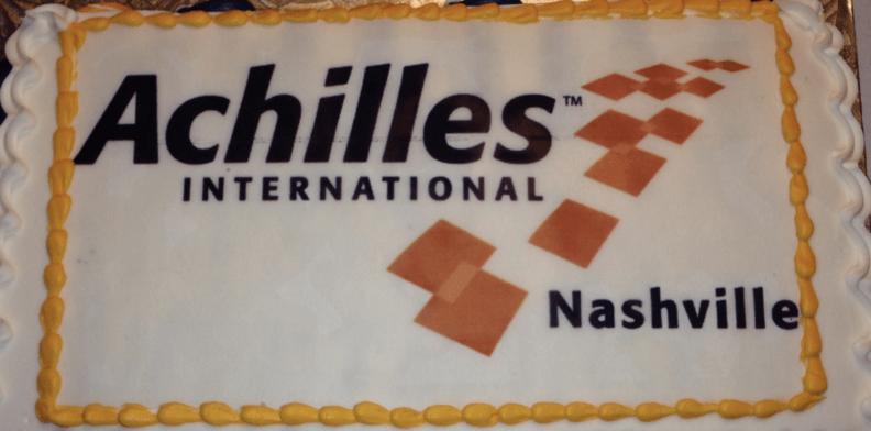Achilles Nashville's Birthday cake