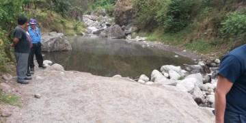 Ahogado en rio El Chorro