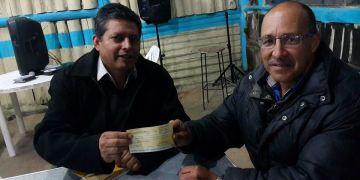 Donación alcalde