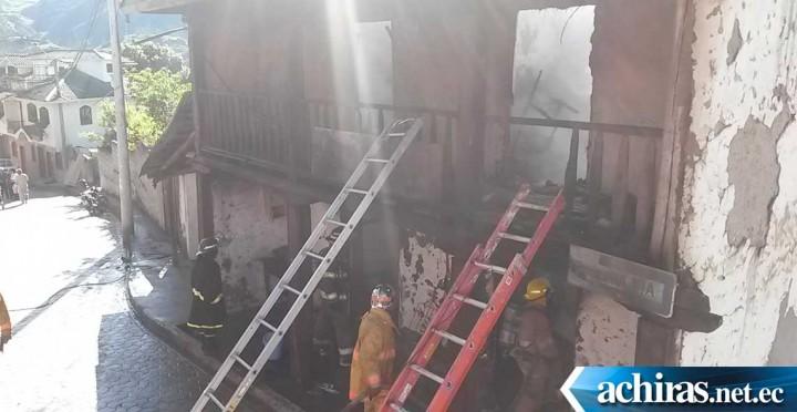 Incendio San Fernando