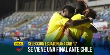 Este jueves 16 de marzo Chile y Ecuador se enfrentarán a las 18h00 (Ecuador) 20h00 (Chile) en el Estadio El Teniente- Rancagua. | Foto: ecuafutbol.org