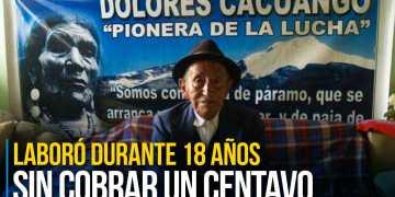 En la comunidad de San Ana, Luis Cuatucuamba vive con su esposa, Hortencia, y su hija Luz. Foto: Francisco Espinoza para EL COMERCIO