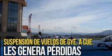Según empresas y agencias, la suspensión de vuelos de Guayaquil a Cuenca les genera pérdidas. Sin embargo, de igual forma admiten que viajar a Cuenca pede resultar más caro que viajar al exterior.