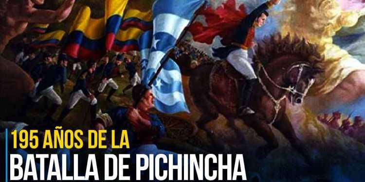 195 años de la Batalla de Pichincha