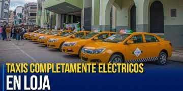 Arranca en Loja primera línea de taxis completamente eléctricos