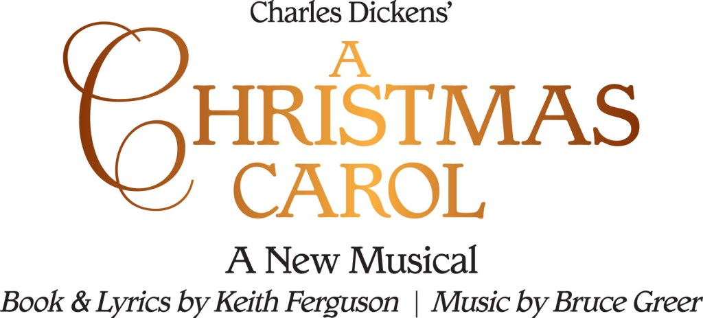 A Christmas Carol - A New Musical logo