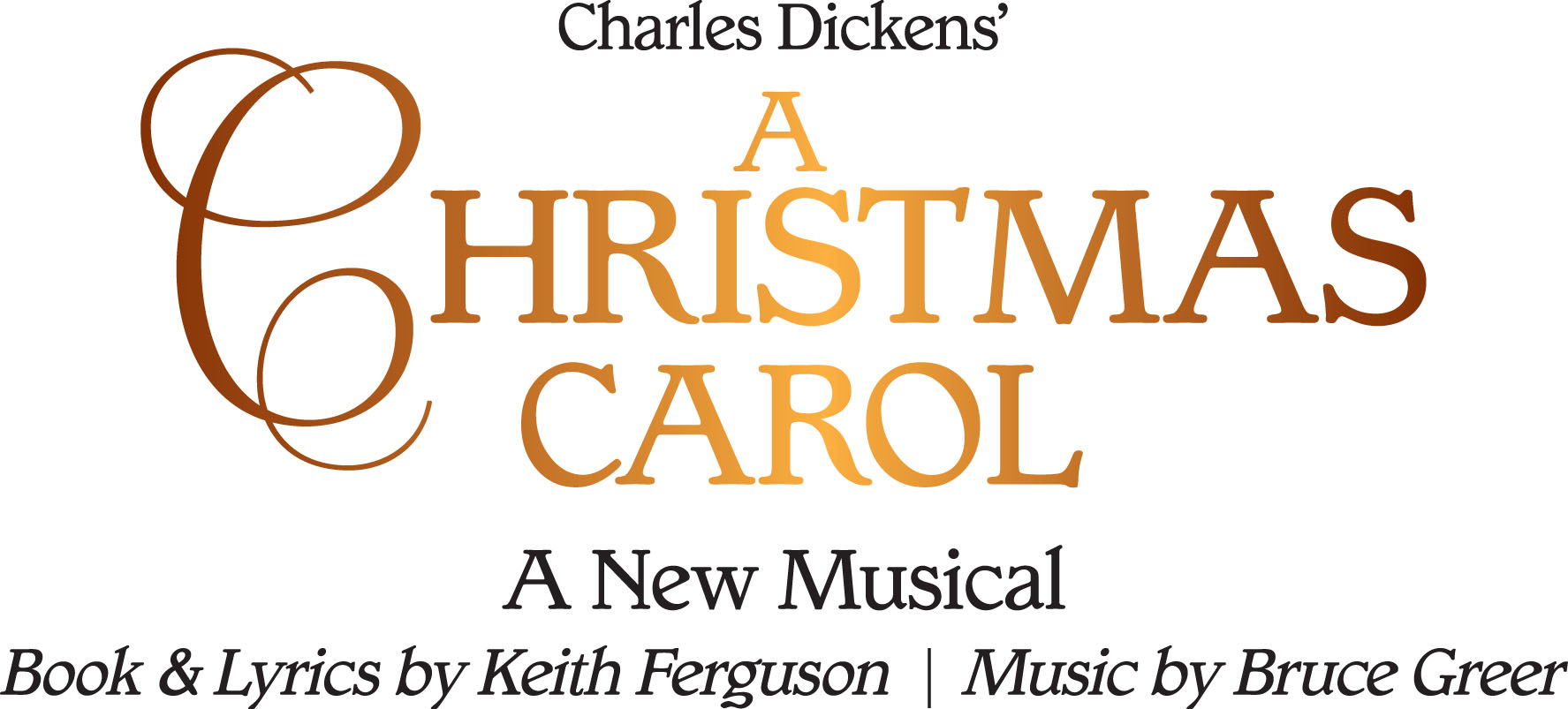 a christmas carol a new musical logo - A Christmas Carol Full Text