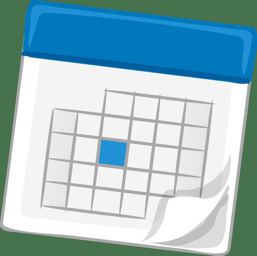 medium resolution of calendar