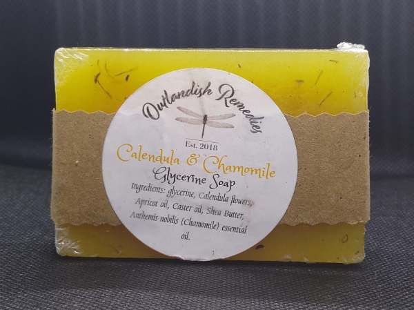 ashley carpenter calendula chamomile soap