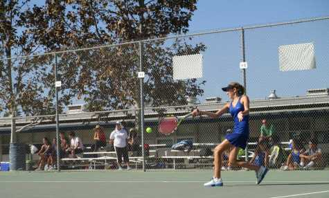Unorthodox warm-up leads to great tennis for Scorpion Girls