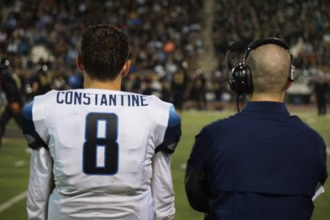 Constantine suspended from earlier game, says he's learned his lesson–will start tonight against La Habra