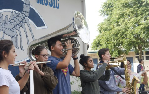 The Marching Scorpions' Competitive Season Comes to a Close