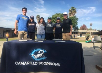 Six of Cam High's Student-Athletes Commit to NCAA Colleges