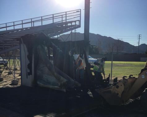 Cam High Storage Shed Burns Down, Destroying Athletic Equipment
