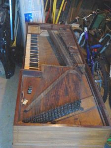 Astor piano without the lid