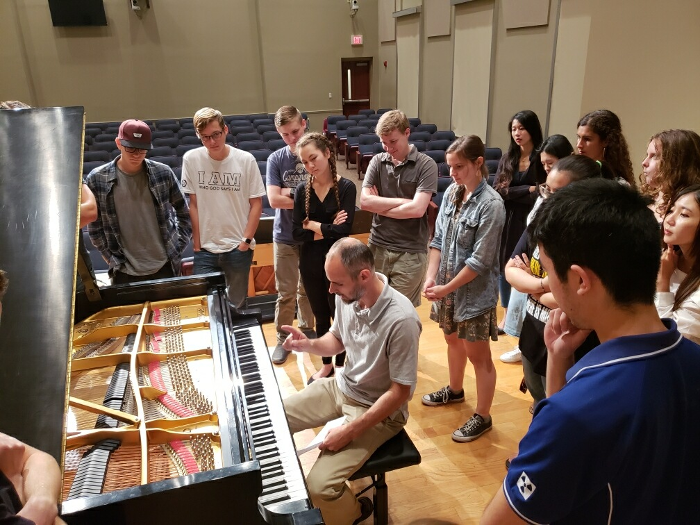Guest Speaker at Lee U's Piano Seminar!