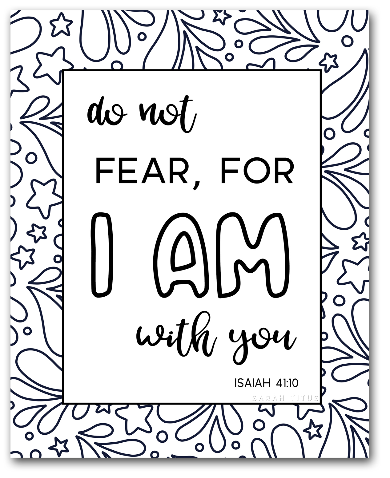 Elementary Bible Verse Coloring Page Friendship