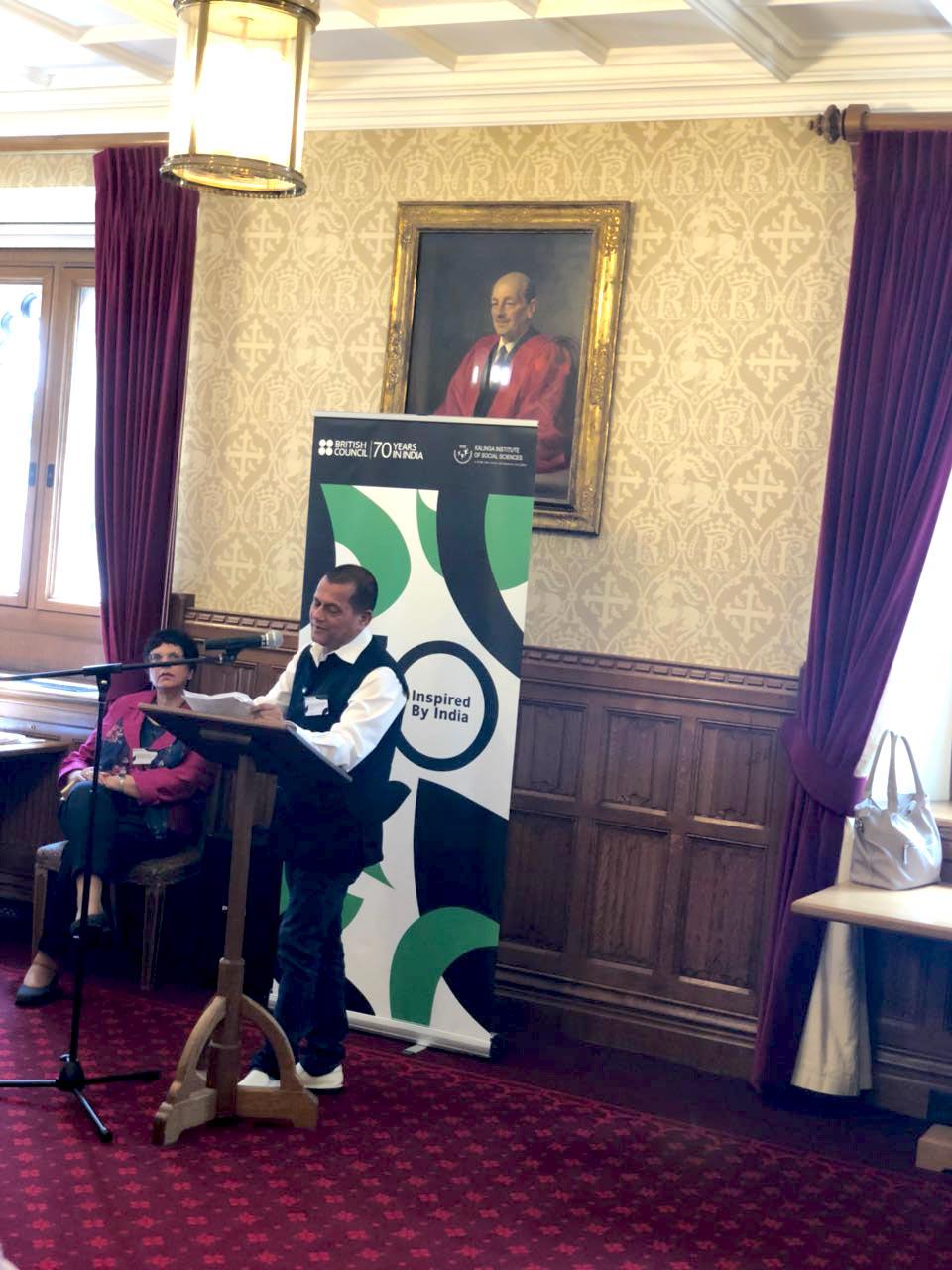 Achyuta Samanta at the House of Lords