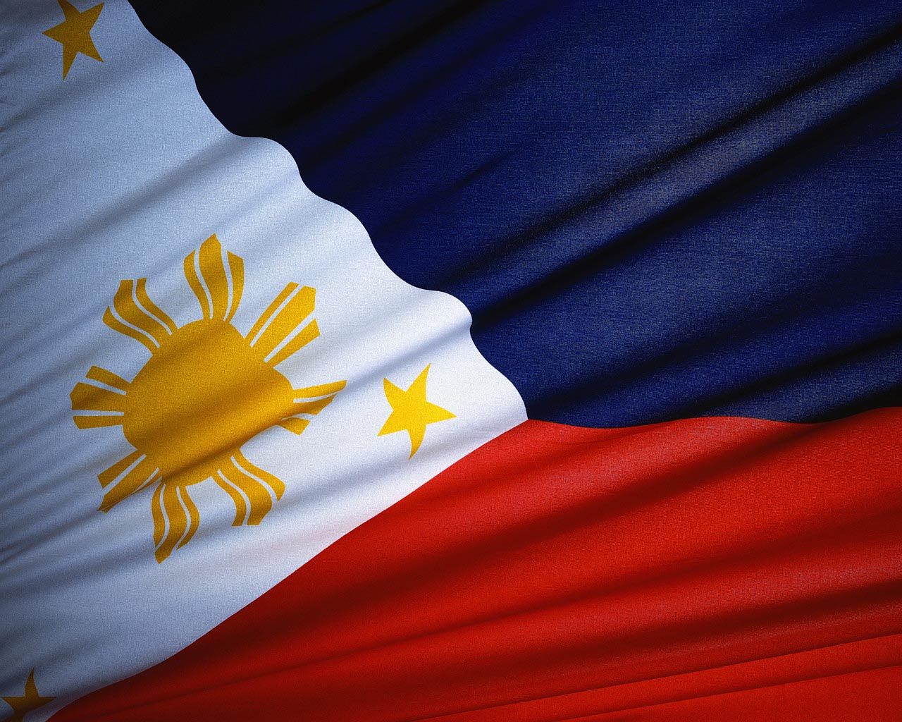 Photo of the Philippine flag