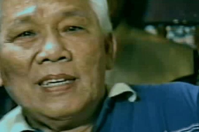 Interview with Philippine National Artist Lucio San Pedro