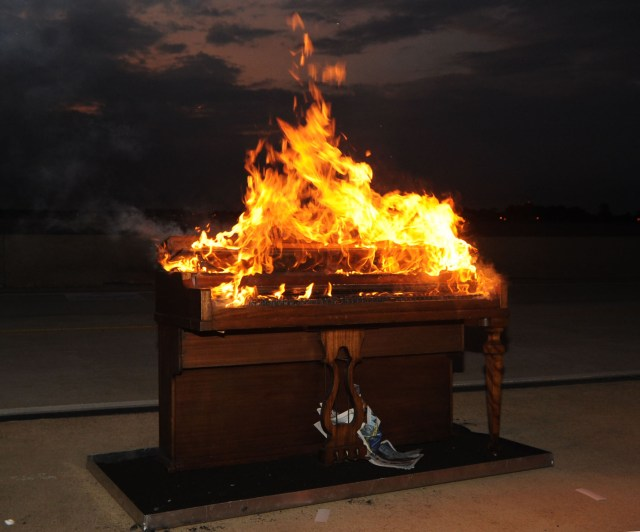 How a CNN Article Led to a Poem About Pianos Burning