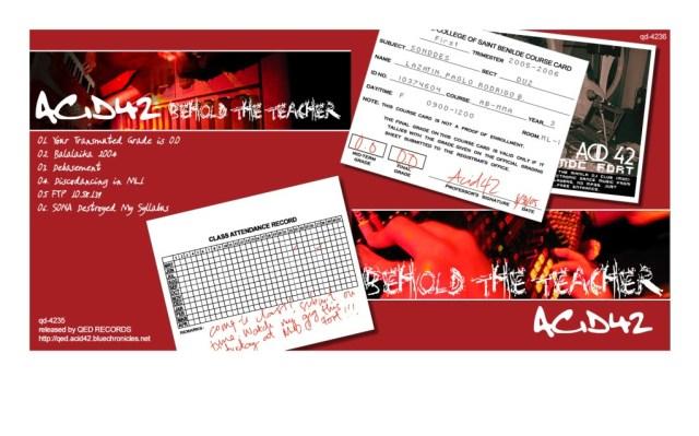 album cover of qd-4236 Acid42 - Behold the Teacher