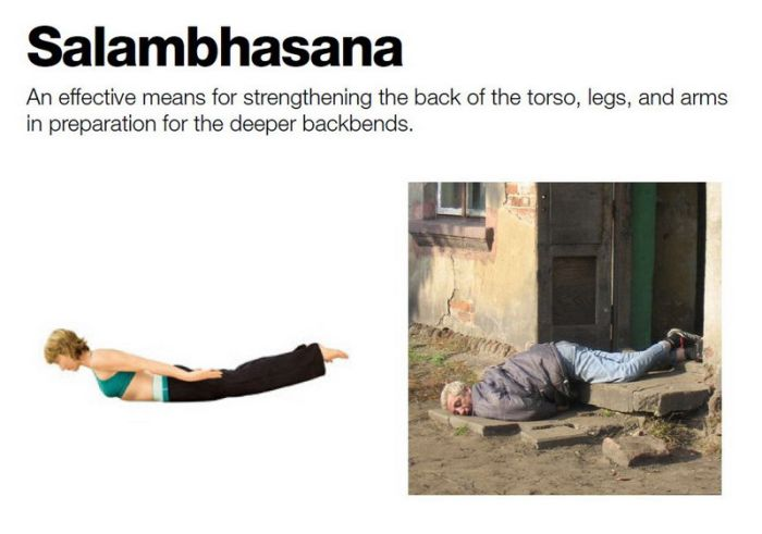 Russian drunk yoga (10 pics)