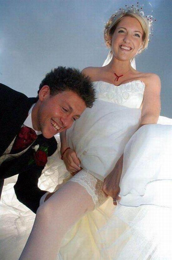 Wedding Pussy Slip