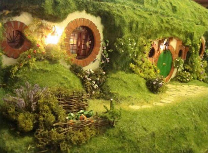Replica de la Casa Hobbit  Taringa