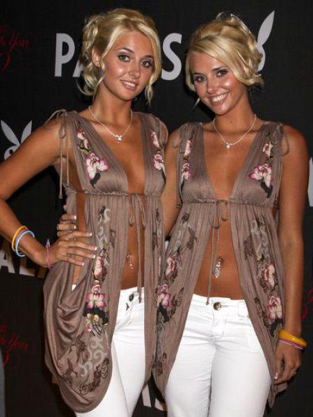 Foto Gadis kembar cantik dan seksi