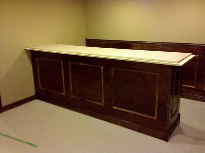 How To Build An Awesome Bar In Your Basement (35 Pics