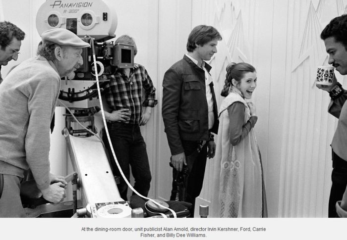 Star Wars:  The Empire Strikes Back. Behind the Scenes (12 pics)