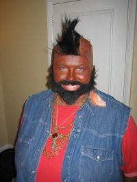 People and One Dog Wearing Mr T's Costumes (25 pics)