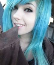 girls with colored hair 25 pics