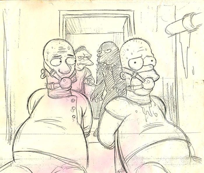 """The Simpsons"" do ""Pulp Fiction"" (11 pics)"