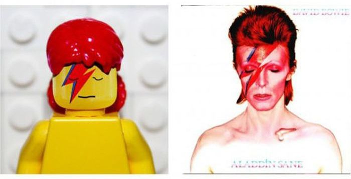 Lego Album Covers (26 pics)