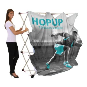 10 x 10 HOPUP Fabric Popup Displays