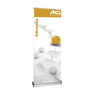 Advance Double-Sided Retractable Banner Stand