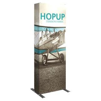 "31"" x 90"" Flat HOPUP Fabric Popup Exhibit"