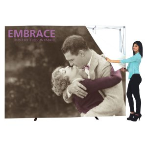 10 x 10 EMBRACE Portable Fitted Fabric Displays