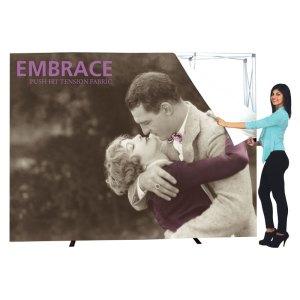 10 x 10 EMBRACE SEG Fabric Popup Exhibits