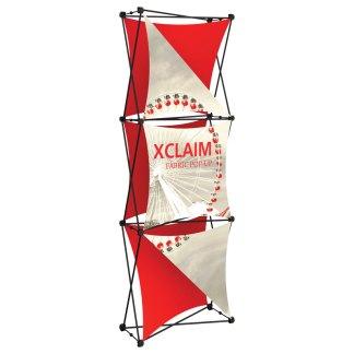"""30"""" x 88"""" XCLAIM Fabric Popup Exhibit-4"""