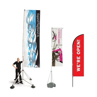 Outdoor Event Flags