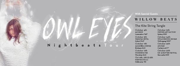 OWL EYES - Nightbeats Tour