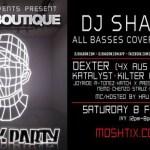 Bass Boutique - DJ Shadow, Dexter, Katalyst & Kilter