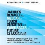 Future Classic- Paradiso feat. Jacques Renault, Medlar, Touch Sensitive, Wave Racer  [Sydney Festival]
