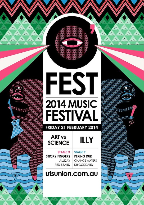 UTS O'FEST, Art Vs. Science, Illy + Peking Duk