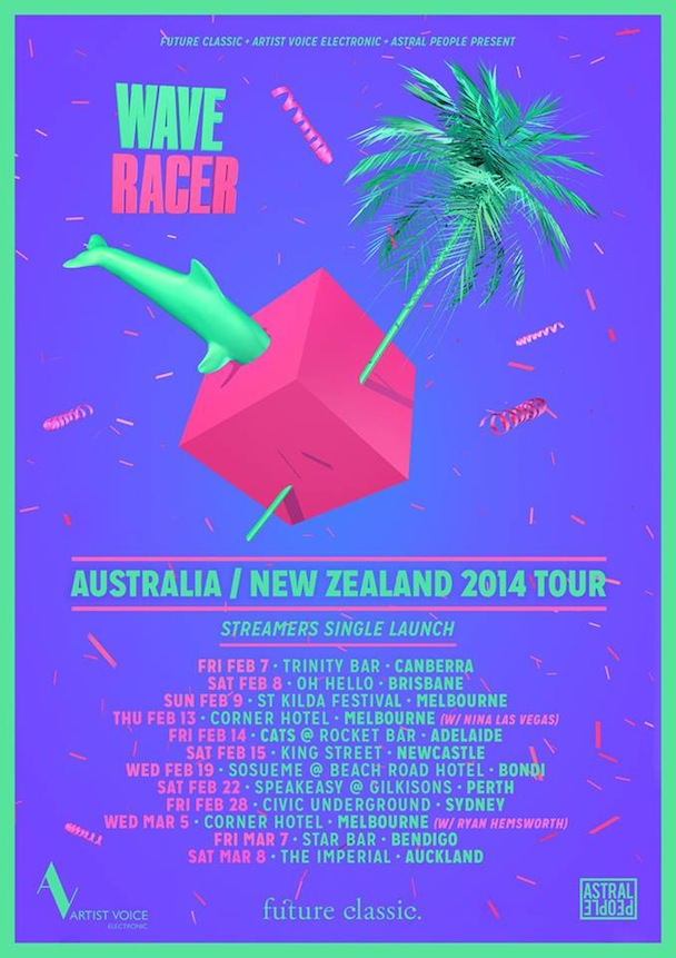 Wave Racer - Tour Poster