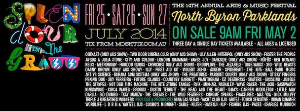 Splendour in the Grass 2014 - banner - acid stag