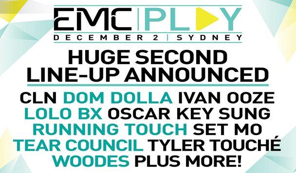 EMCPlay Announces Line-up – Round 2